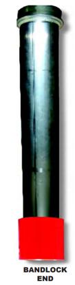 Tuff Tube - Hydroexcavation Dig Tube - Bandlock End