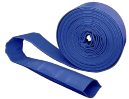 Blue 'Premium' PVC Water Discharge Hose