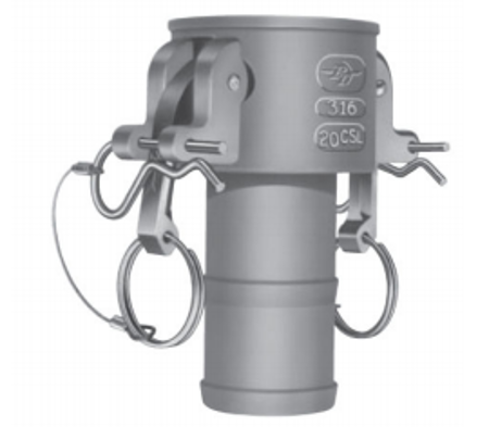 Picture for category Locking Quick Connect Couplings