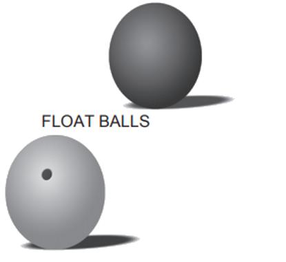 Stainless Steel Float Balls