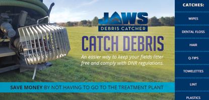 Jaws Debris Catcher