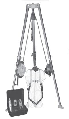 S50G-M7 Complete Tripod Set-Up