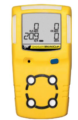BW Gas Alert Microclip Multi-Gas Monitoring
